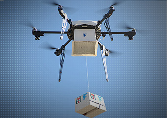 Firma 7-Eleven wykorzystuje drony by dostarczać kanapki z kurczakiem i napoje.
